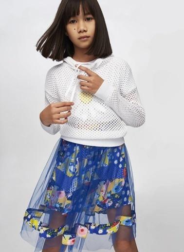 Tyess Tyess B&G Renkli Kız Çocuk Etek Renkli